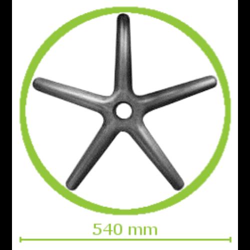 Műanyag lábcsillag gyerekszékekhez d.540/P.10