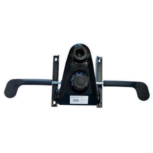 Multiblock hintamechanika (több ponton rögzíthető fotel kioldó) 200x200 mm furattávolság méretű székalkatrész főnöki forgószékhez