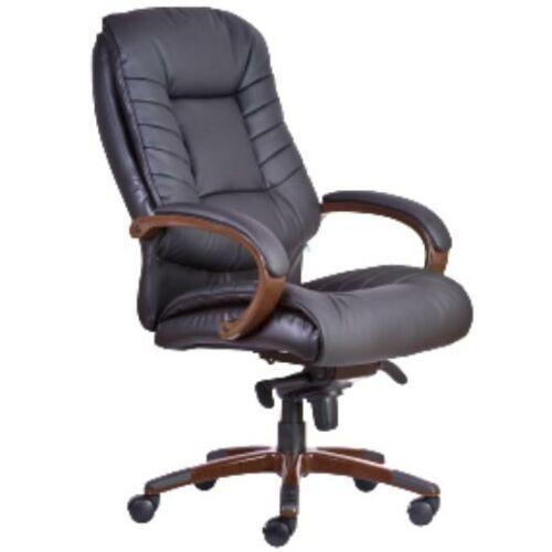 BUFFALO fekete műbőr vezetői szék több ponton rögzíthető mechanikával