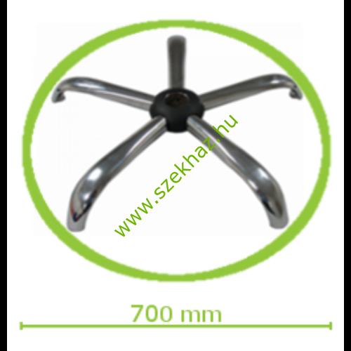 Krómozott acél lábcsillag nagy méretű forgószékekhez d.700/P.11