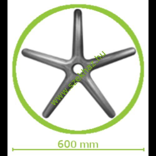 Műanyag lábcsillag kis méretű forgószékekhez d.600/P.11